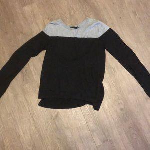Black and gray Calvin Klein light sweater